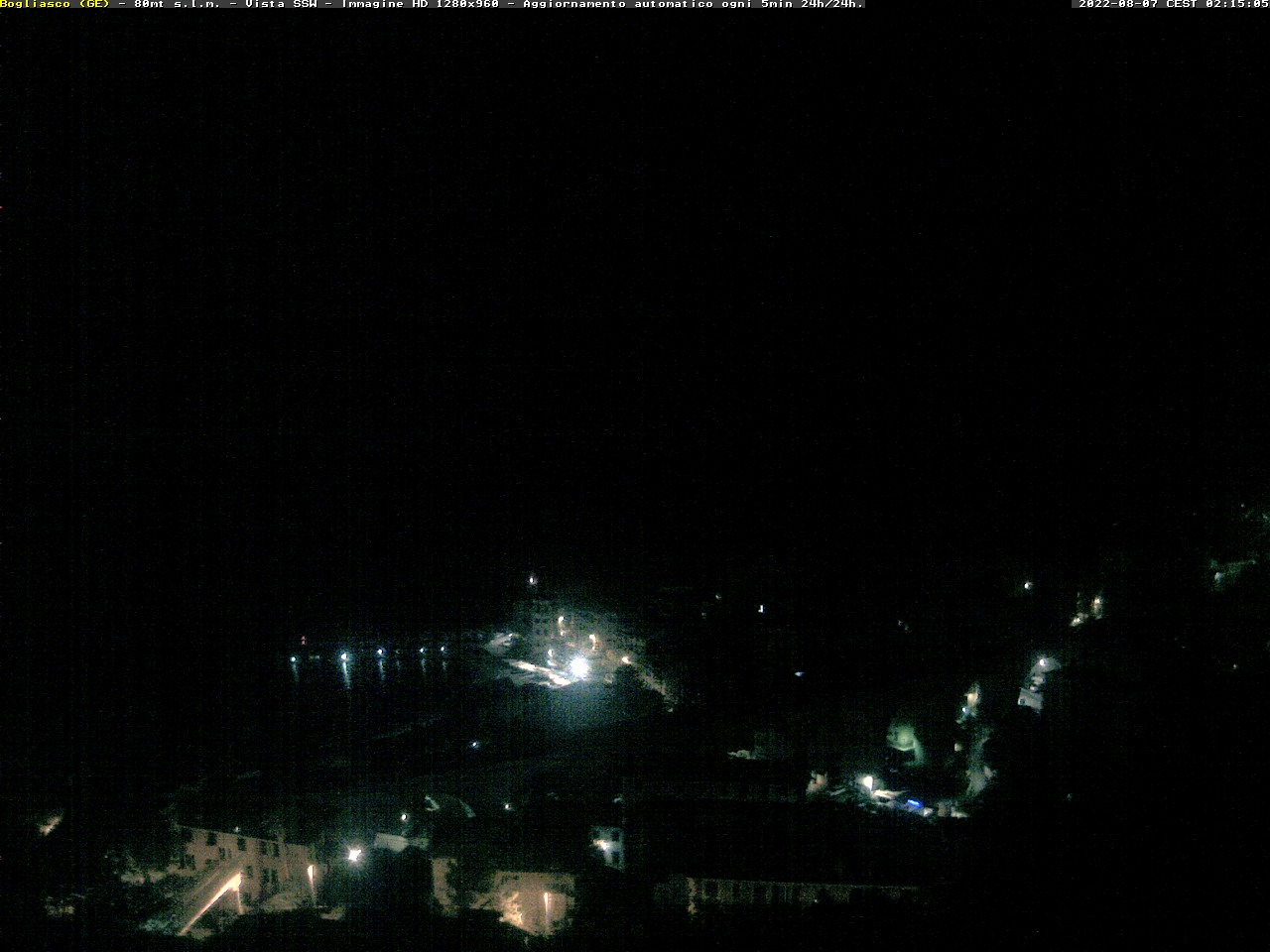 Webcam Bogliasco Genova