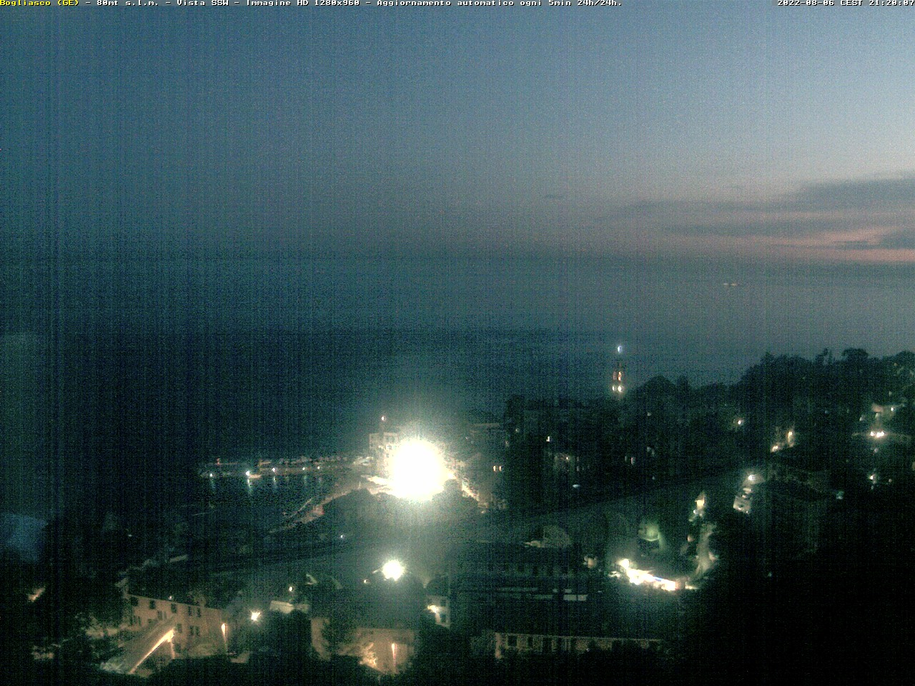 Webcam Genova Nervi
