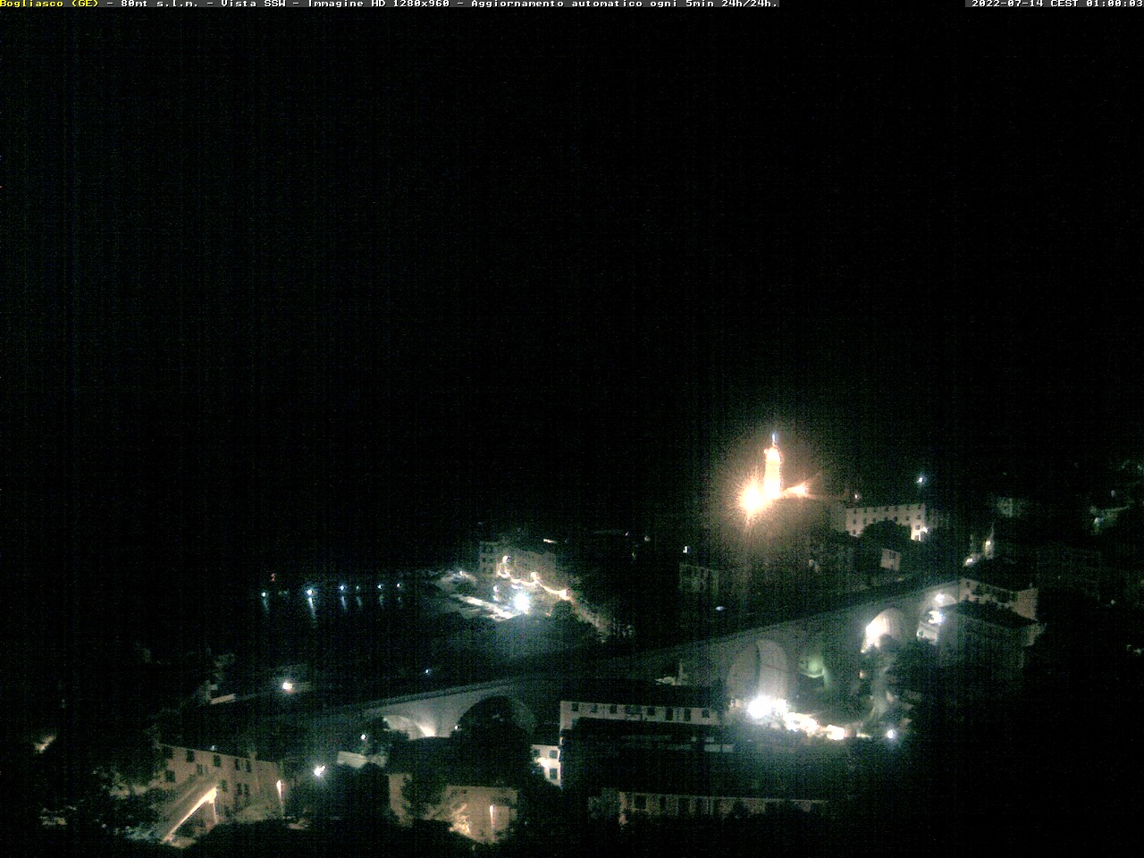 Webcam Bogliasco (GE)