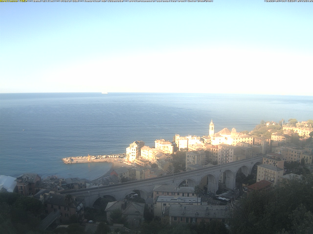 Webcam Bogliasco Live webcamera